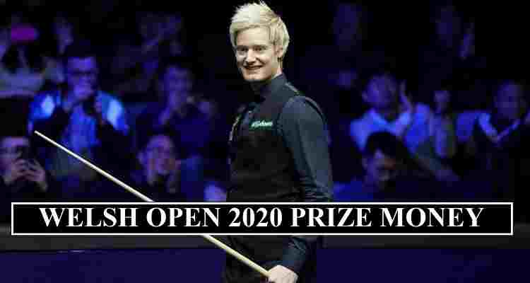 Welsh Open 2020 Prize Money
