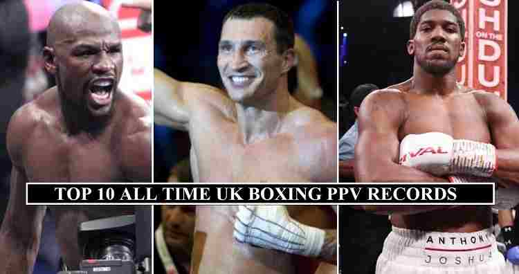 UK Boxing PPV Buys