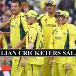 Australian Cricket Players Salaries