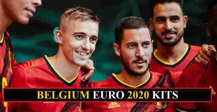 Belgium Euro 2020 kits