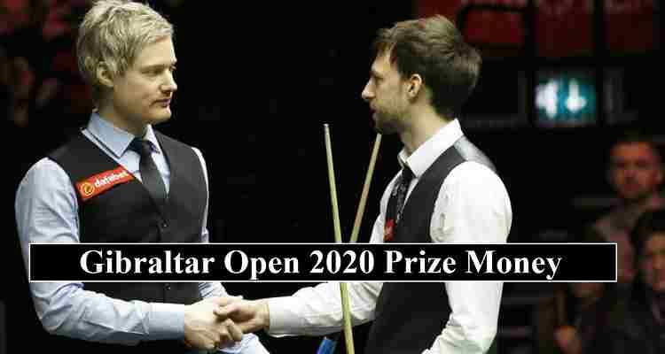 Gibraltar Open 2020 Prize