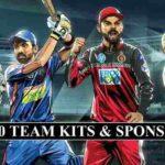 IPL 2020 Team Kits