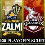 PSL 2020 Playoffs schedule