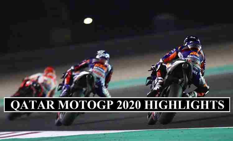 Qatar MotoGP 2020 Highlights