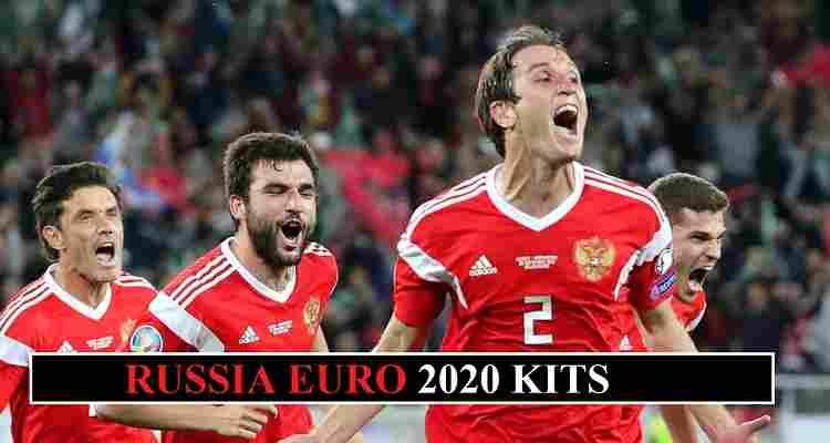 Russia Euro 2020 Kits