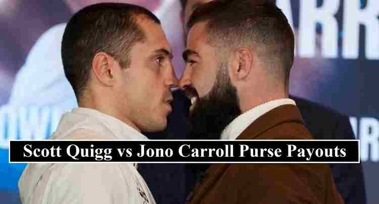 Quigg Carroll purse payouts