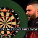 UK Open 2020 Prize