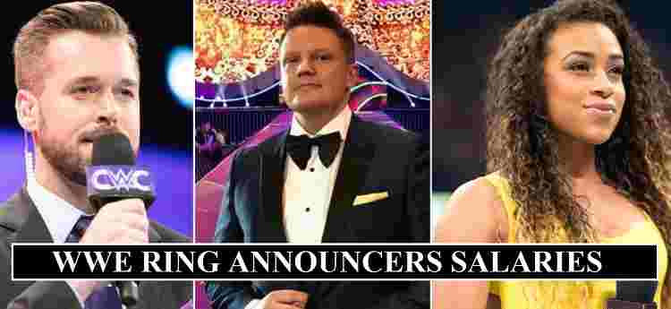 WWE Ring Announcers Salaries