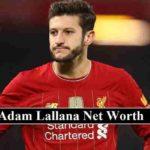 Adam Lallana net worth