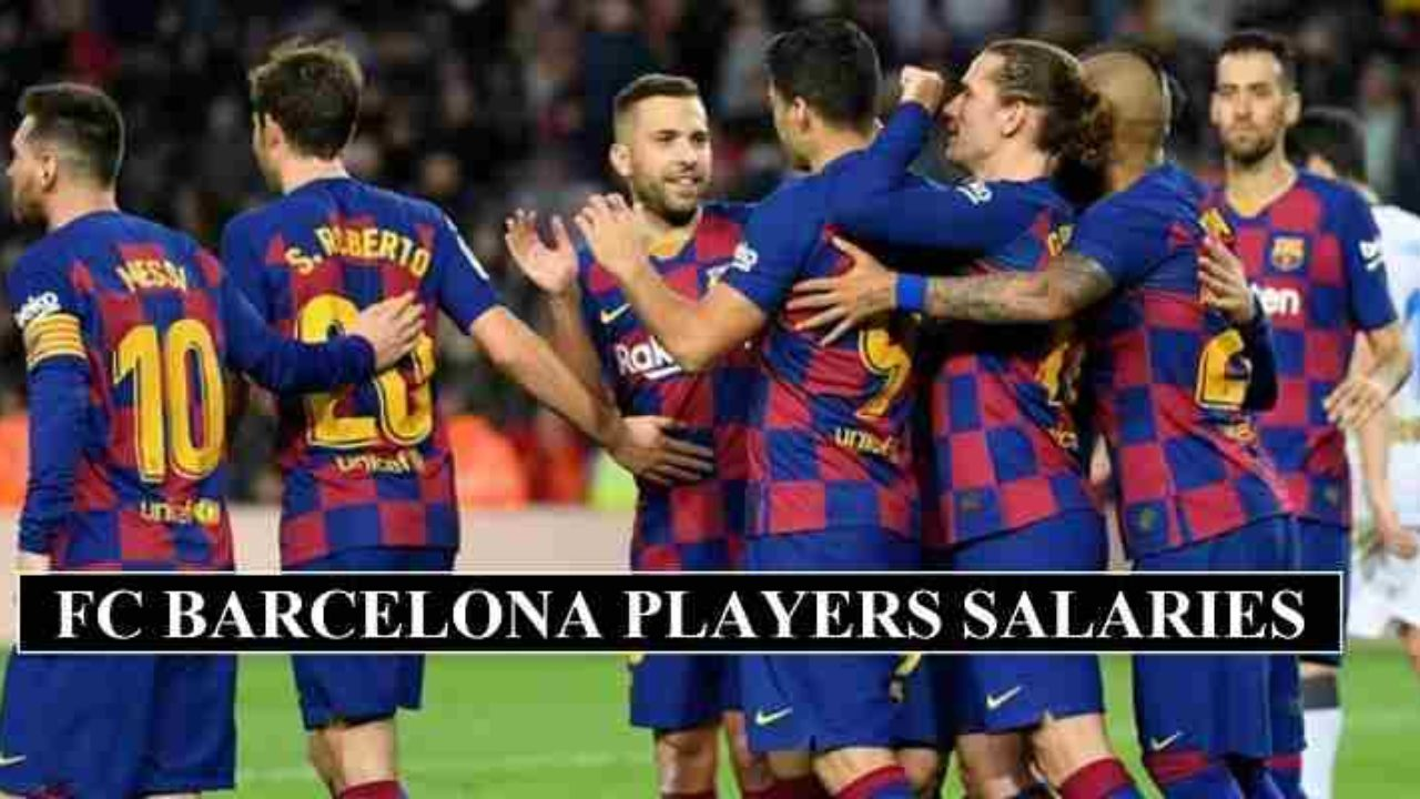 The Best Fc Barcelona Players 2020/21