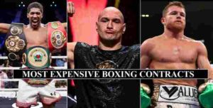 Expensive Boxing Contracts