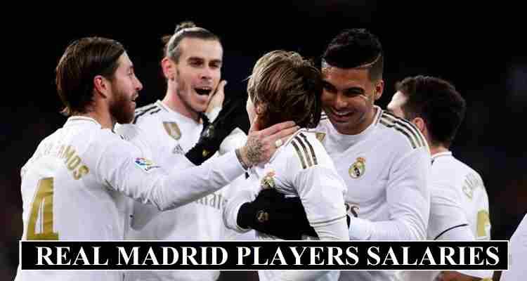 Real Madrid Players Salaries