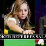 Snooker Referees Salaries