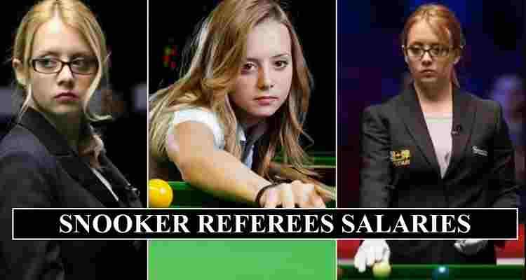 Snooker Referees Salaries 2020 (Tournament Fees & Sponsorship Bonus)