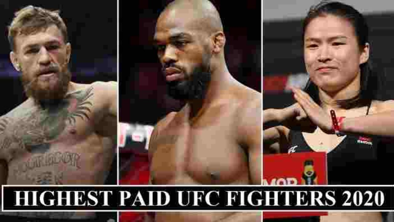 The 20 Highest Paid Ufc Fighters 2020 Revealed