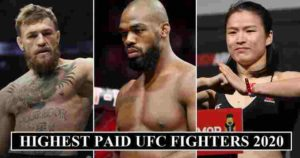 Highest Paid UFC Fighters 2020