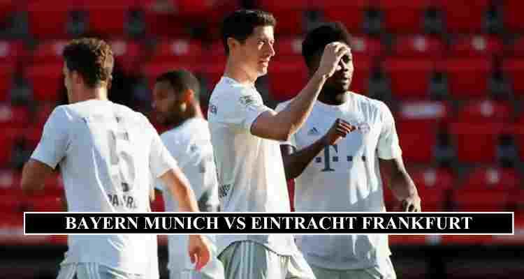 Bayern Munich Eintracht Stream Channels