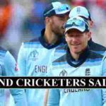 England Cricket Players Salaries