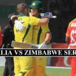 Australia Zimbabwe Schedule 2020