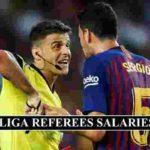 LA Liga Referees Salaries