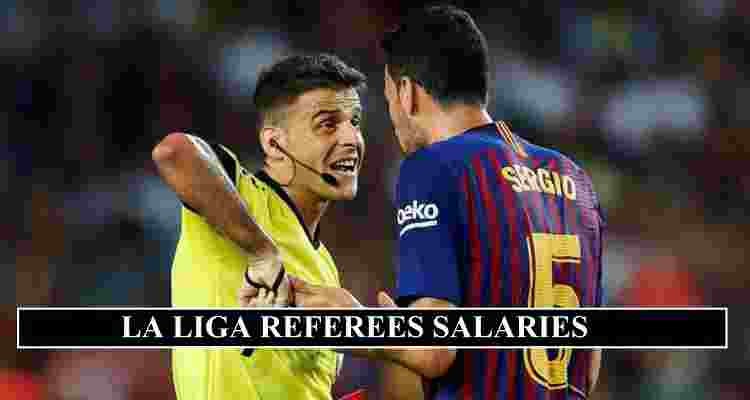 LA Liga Referees Salaries