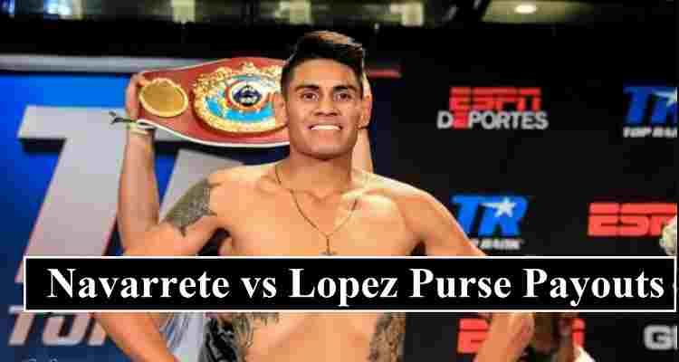 Navarrete Lopez Purse Payouts
