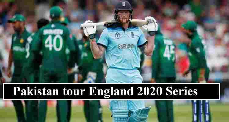 Pakistan England Schedule 2020