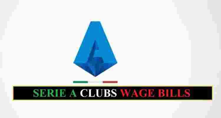 Serie A Clubs Wage Bills