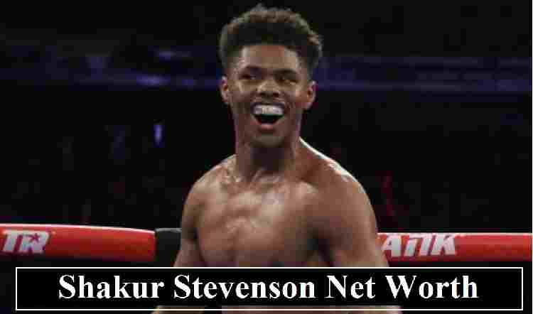 Shakur Stevenson Net Worth