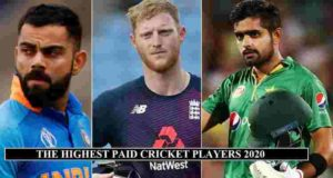 Highest Paid Cricketers 2020