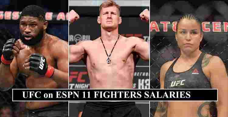 UFC on ESPN 11 Salaries