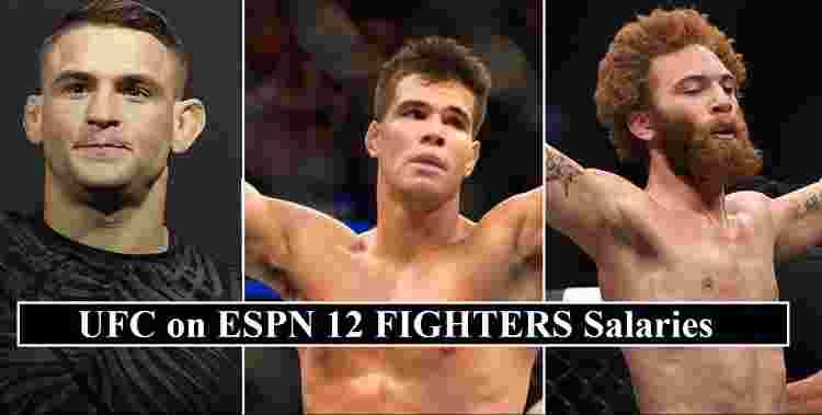 UFC ESPN 12 Salaries