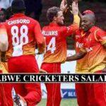 Zimbabwe Cricketers Salaries