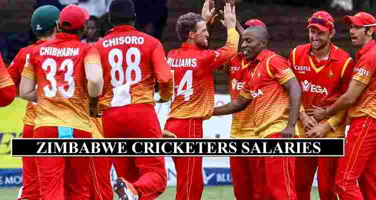 Zimbabwe Cricketers Salaries