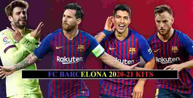 Barcelona 2021 Kits