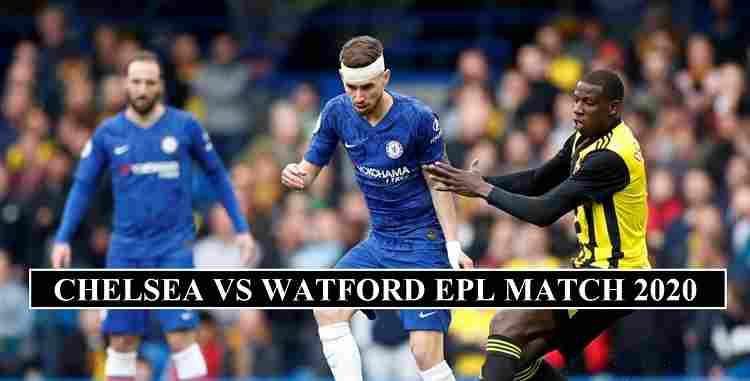 Chelsea Watford Stream channels