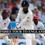 England West Indies stream