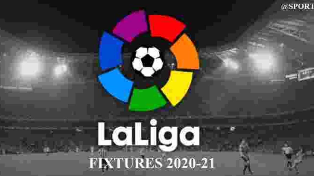 La Liga Fixtures 2020 21 Release Date Confirmed