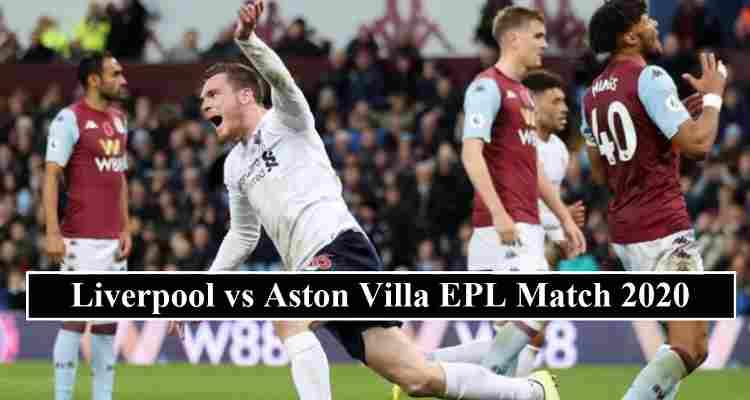 Liverpool Aston Villa stream