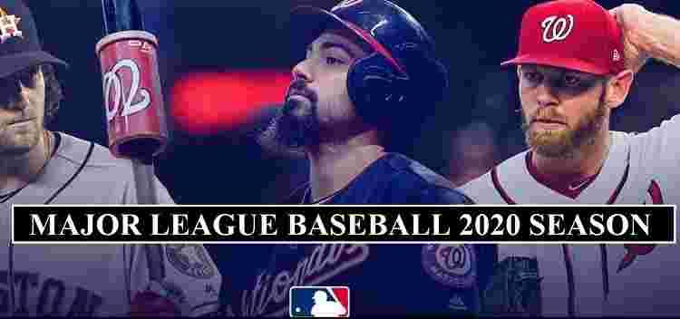 MLB Schedule 2020