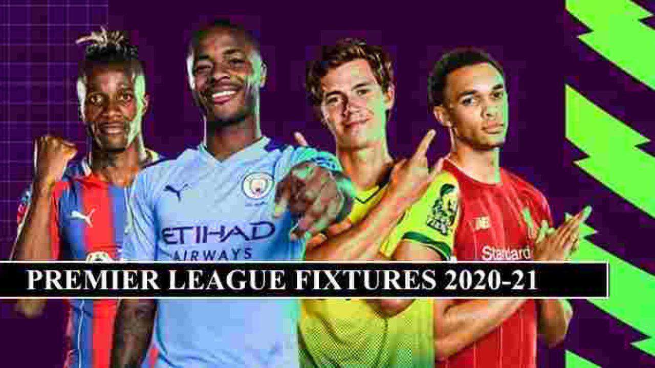 Premier League Fixtures 2020 21 Release Date Confirmed