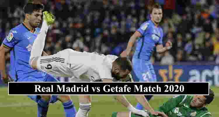 Real Madrid Getafe stream