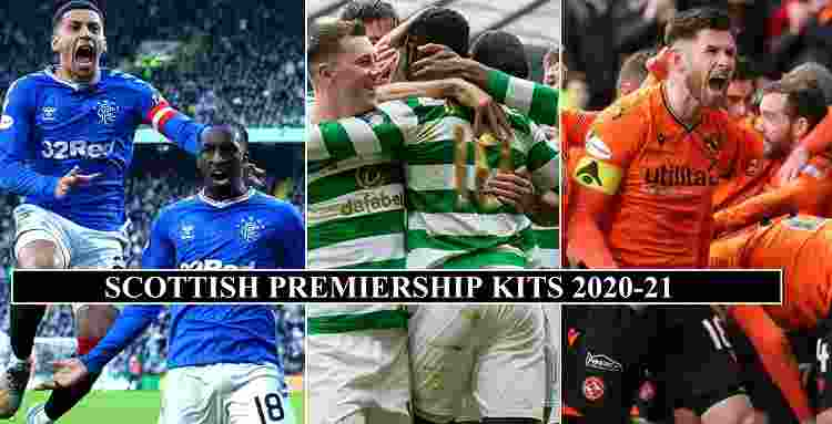 Scottish Premiership 2020-21 Kits
