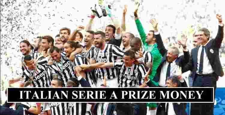 Serie A Prize Money