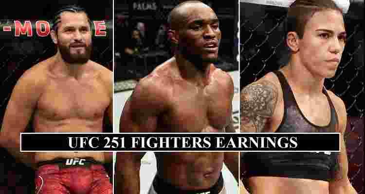 UFC 251 Salaries Purse