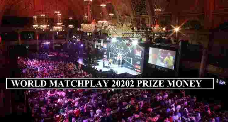 World Matchplay 2020 Prize