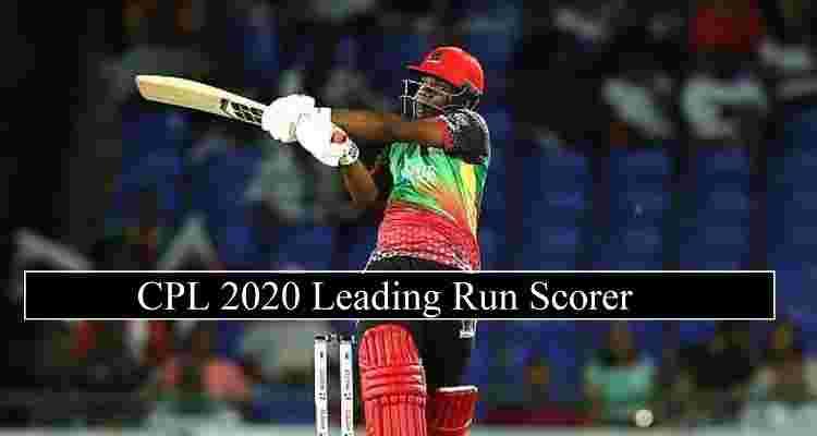 CPL 2020 Leading Run Scorers