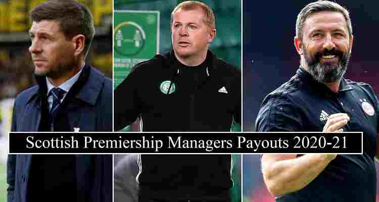 Scottish Premiership Managers Salaries