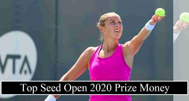 Top Seed Open 2020 Prize