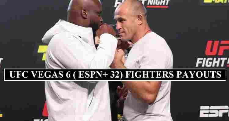 UFC ESPN 32 Salaries